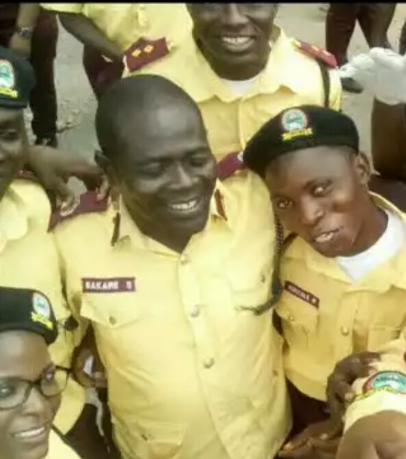 Officials of LASTMA